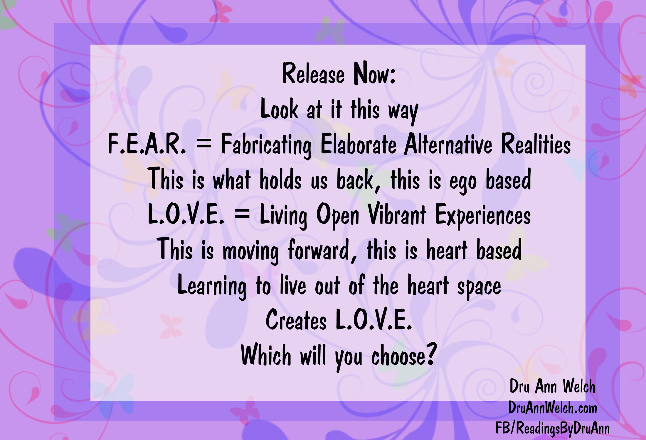 FEAR vs LOVE copy