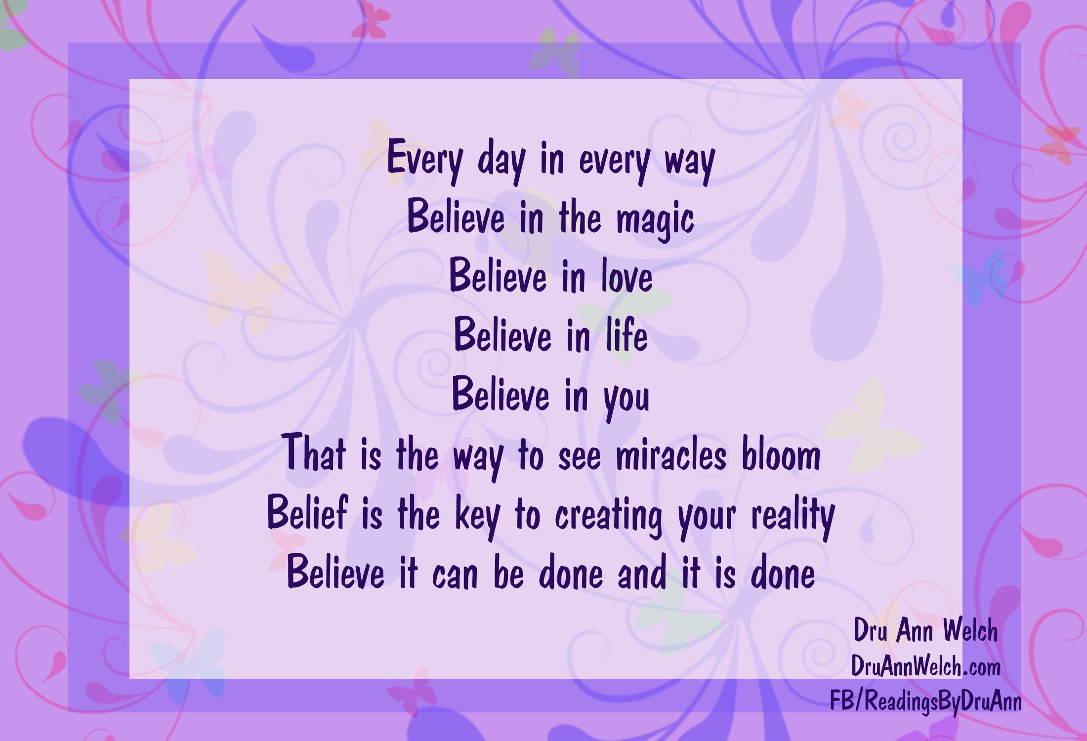 believe copy